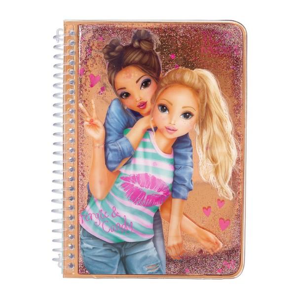 TOPModel Glitter Notitieboekje Fergie & Candy