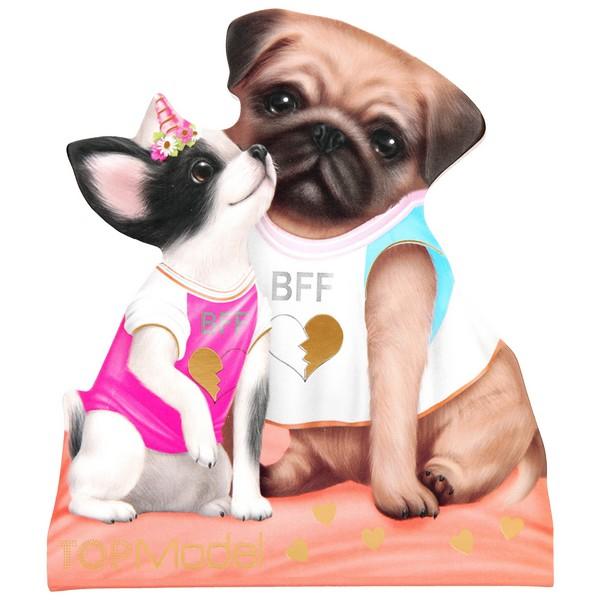 TOPModel Silhouet Notitieblok Hondenvriendjes