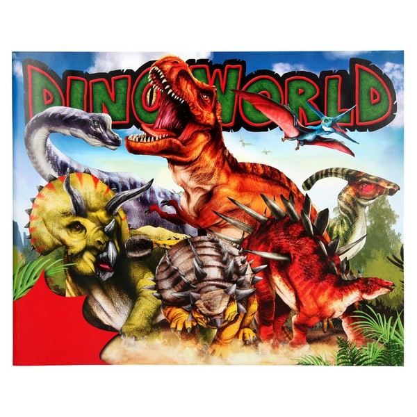 Dino World Sticker Fun 2