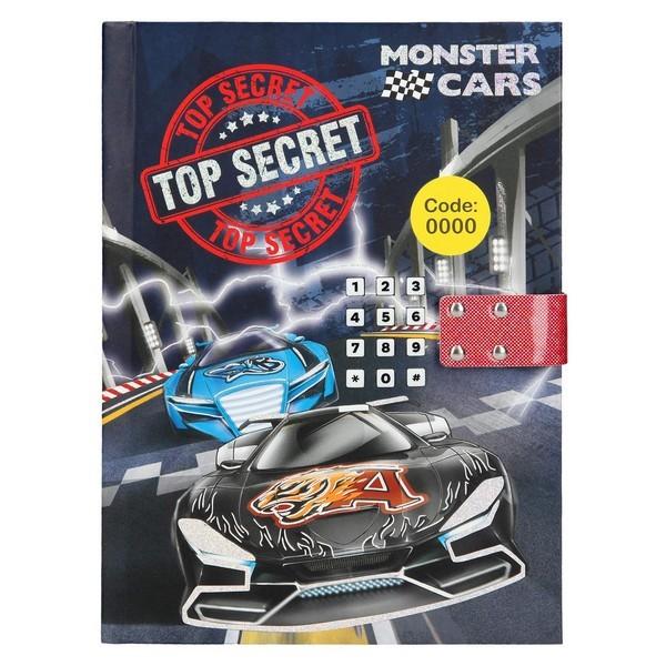 Monster Cars Dagboek met muziek