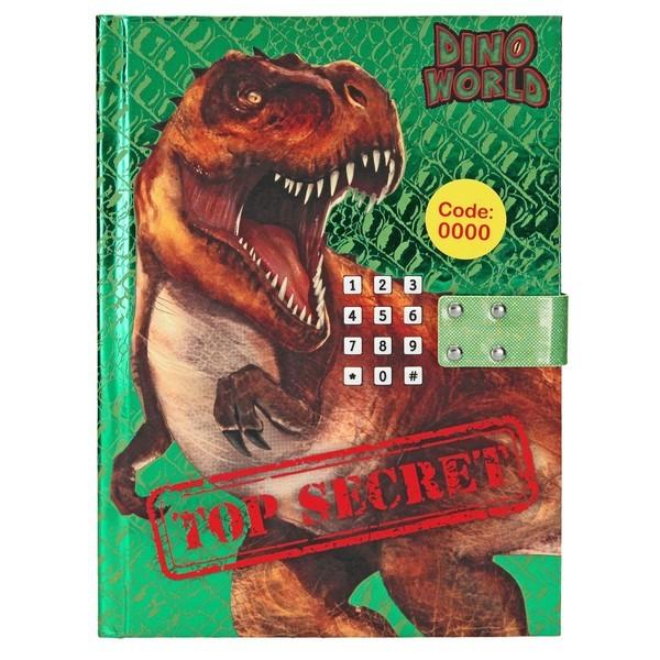 Dino World Dagboek met muziek