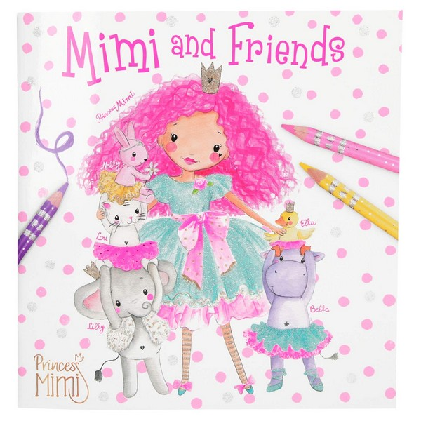 Princess Mimi Kleurboek Mimi and Friends