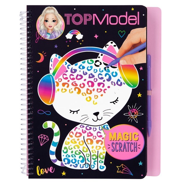 TOPModel Magic Scratch Kleurboek June