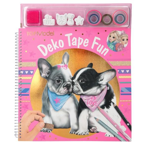 TOPModel Kleur- en knutselboek Deko Tape Fun