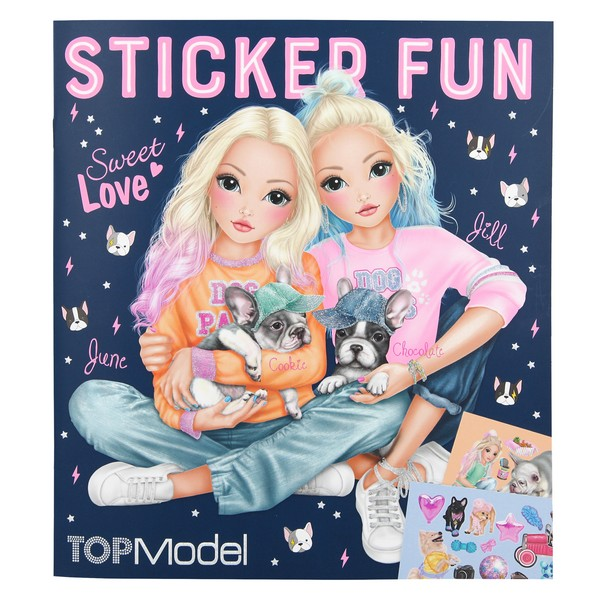 TOPModel Sticker Fun Sweet Love