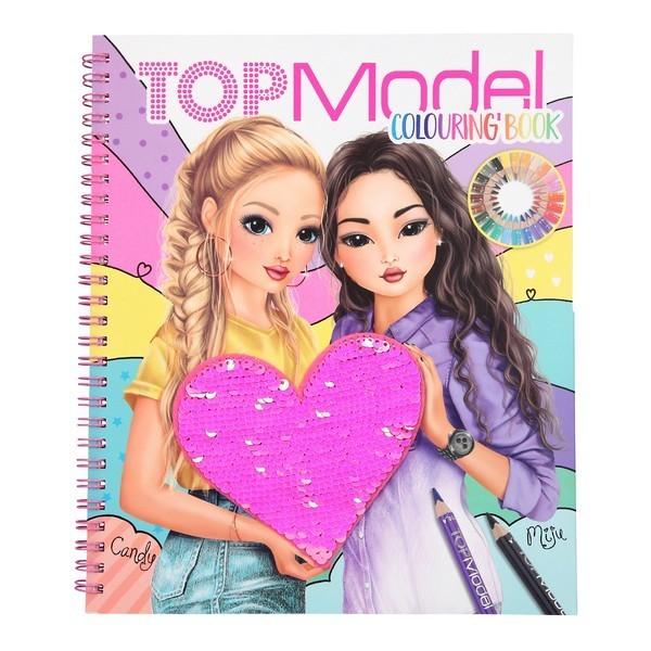 TOPModel Kleurboek Candy & Miju