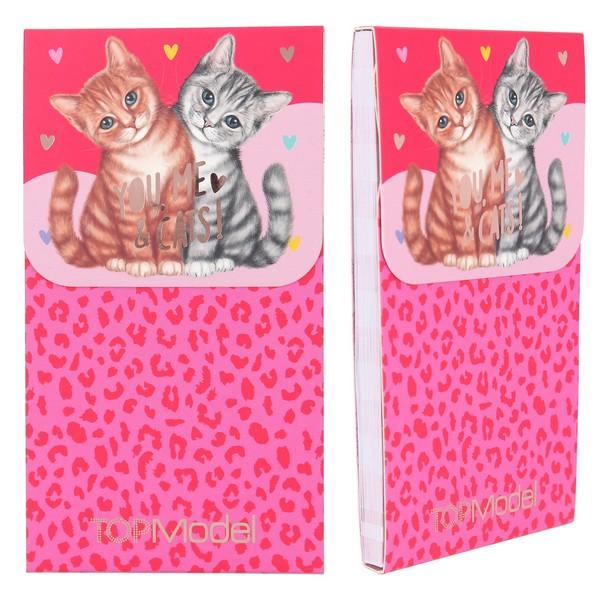 TOPModel Magnetisch Notitieblok You, me, & Cats