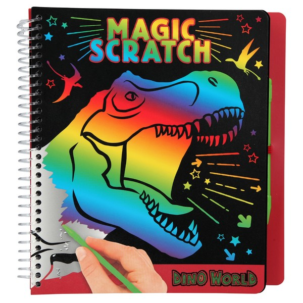 Dino World Magic Scratch Kleurboek T-Rex