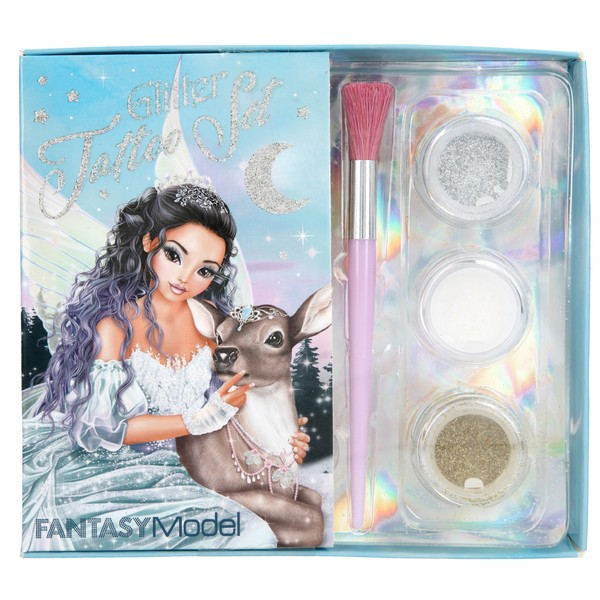 FANTASYModel Glitter Tatoeage Set IJsprinses