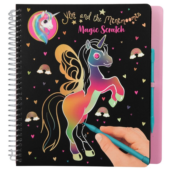 Ylvi & the Minimoomis Magic Scratch Kleurboek