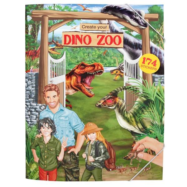 CreativeStudio Maak je eigen Dino Zoo Stickerwereld