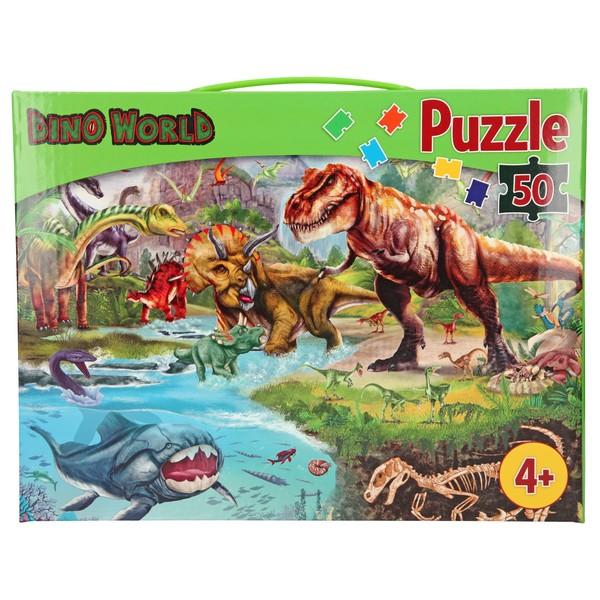 Dino World Puzzel Dinosauriërs