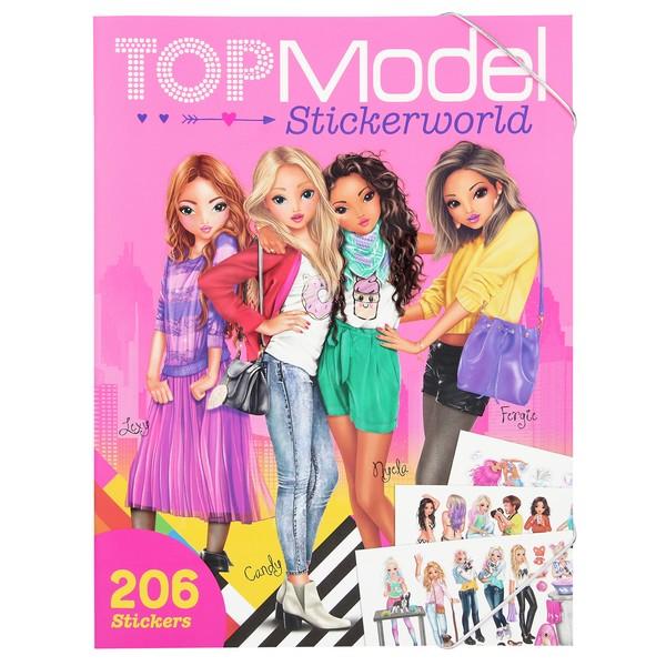 TOPModel Stickerwereld Op Reis