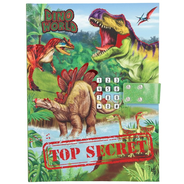 Dino World Dagboek met geluid