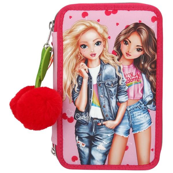 TOPModel Kleurpotloden & Viltstiften Etui Cherry Bomb