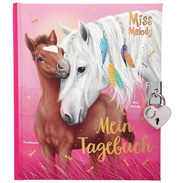 Miss Melody Dagboek met hangslot Heartbreaker