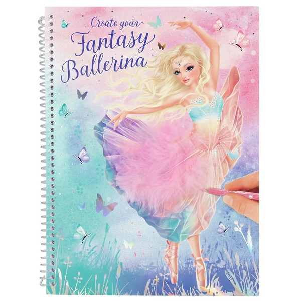 FANTASYModel Create your Fantasy Ballerina Ontwerpboek