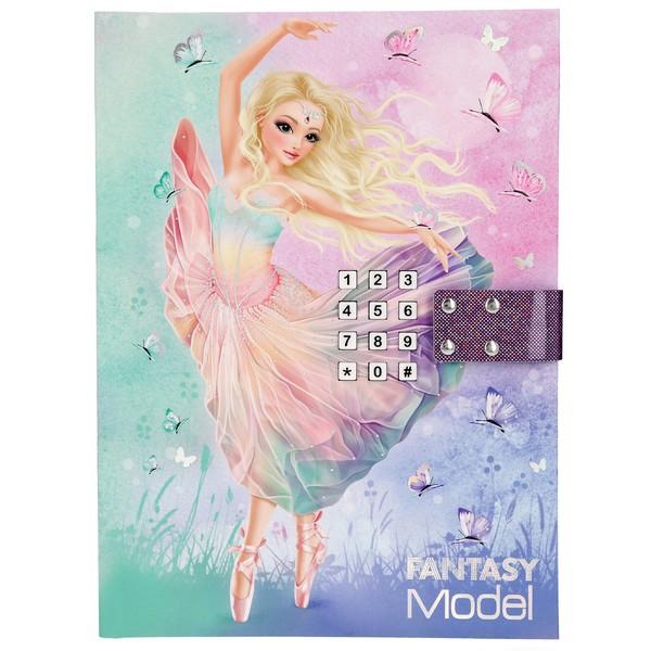 FANTASYModel Dagboek met muziek Ballerina