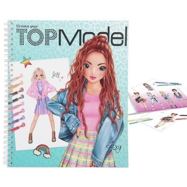 TOPModel Design Tekenboek Lexy