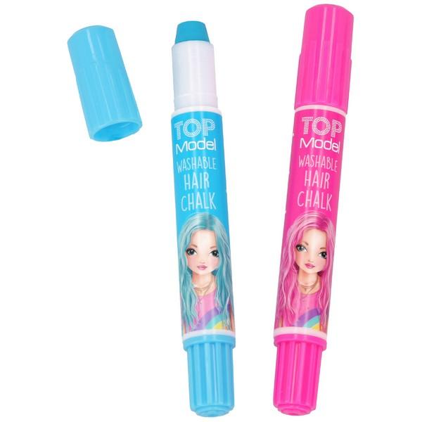 TOPModel Uitwasbaar Haarkrijt Blauw-Roze