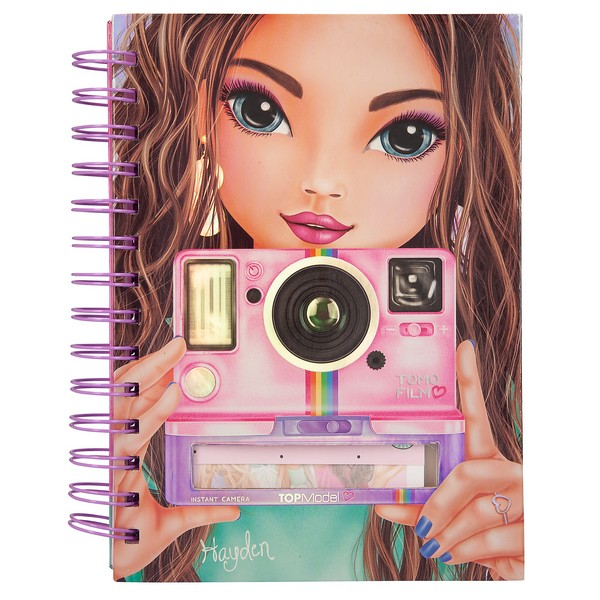 TOPModel Notitieboek Polaroid