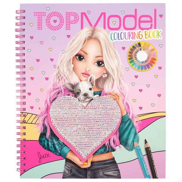 TOPModel Kleurboek June