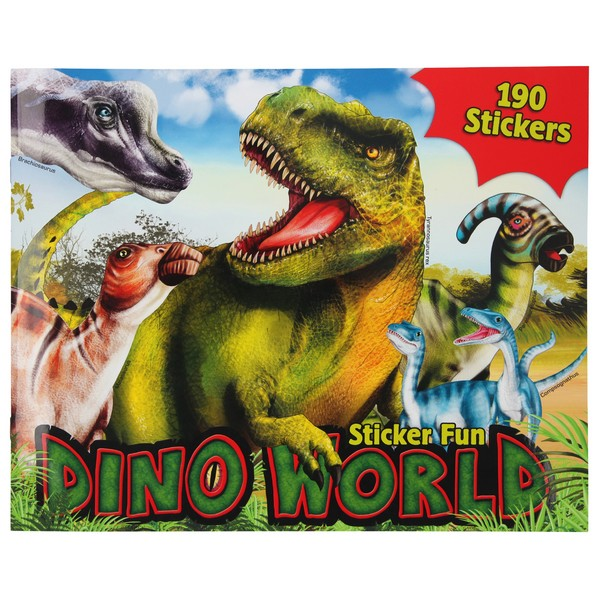 Dino World Sticker Fun Dinowereld