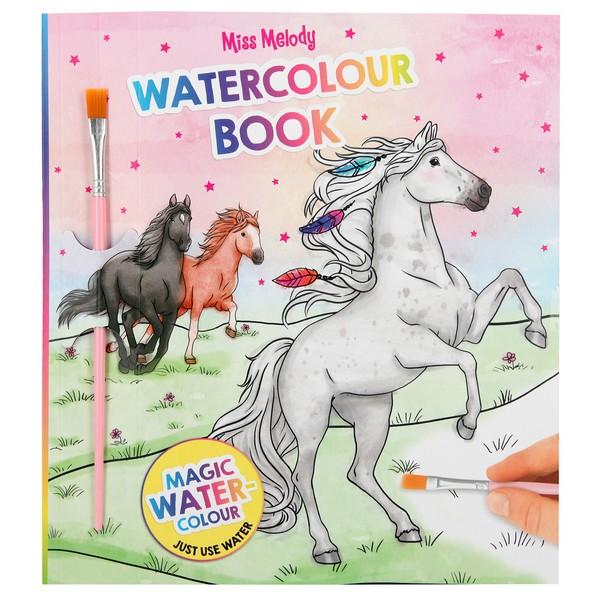 Miss Melody Magisch Waterverf Kleurboek