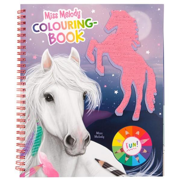Miss Melody Kleurboek Glitterpaard