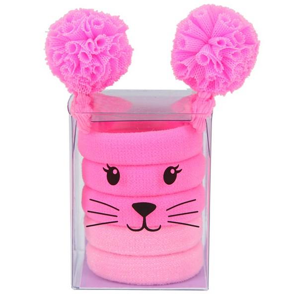 Princess Mimi Haarelastiekjes Roze