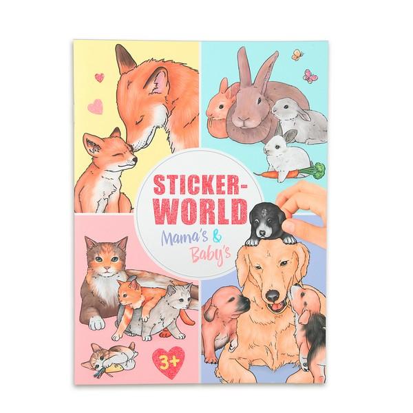 CreativeStudio Maak je eigen Babydieren Stickerwereld