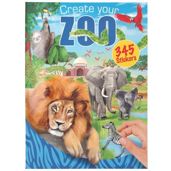 CreativeStudio Maak je eigen Zoo Stickerwereld