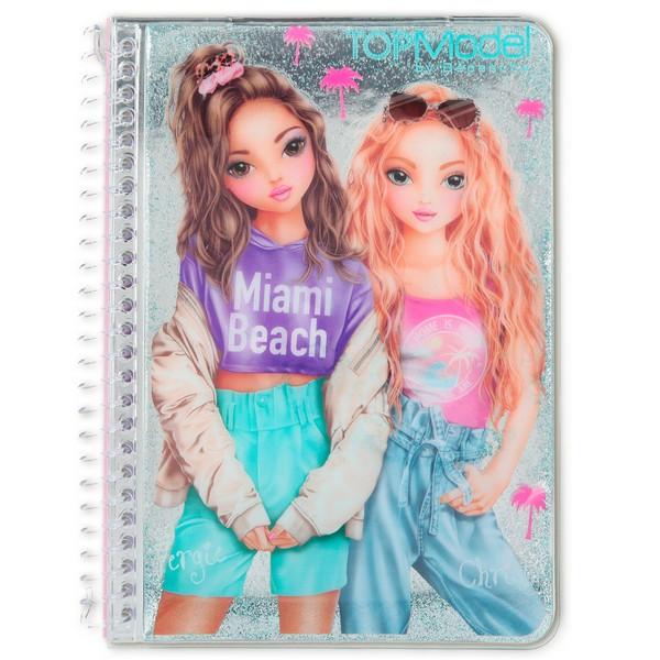 TOPModel Glitter Notitieboekje Fergie & Christy