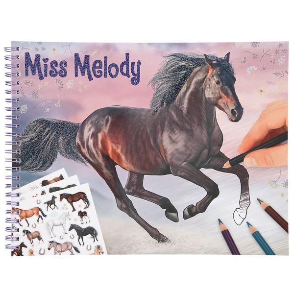 Miss Melody Kleurboek Miss Melody
