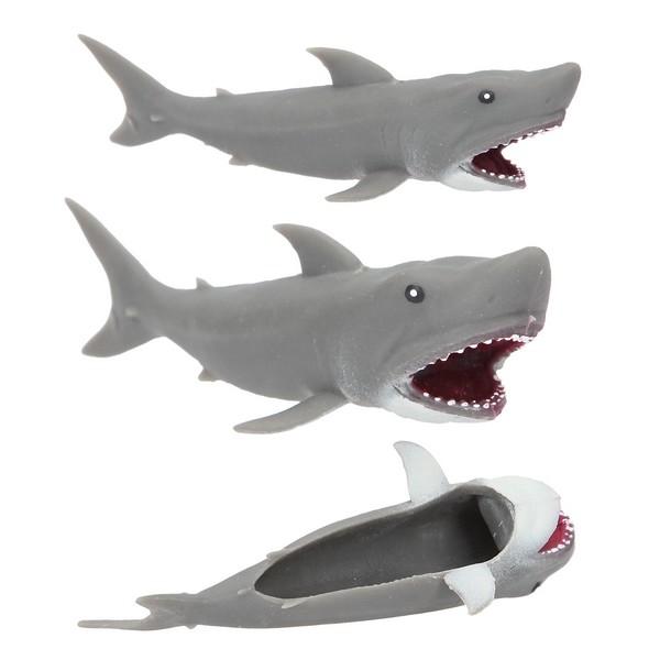 Dino World Vliegende Haai Grijs