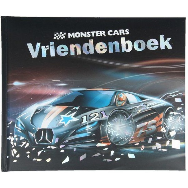 Vriendenboek Monster Cars
