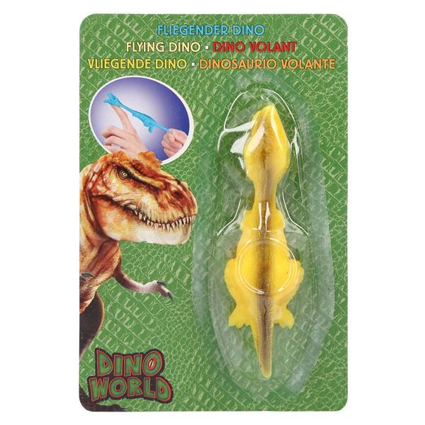 Dino World Vliegende Dino T-Rex Geel