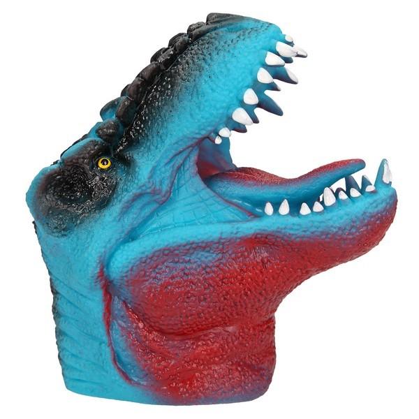 Dino World Handpop T-Rex Blauw