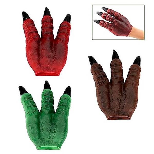 Dino World Handpop Klauw Groen