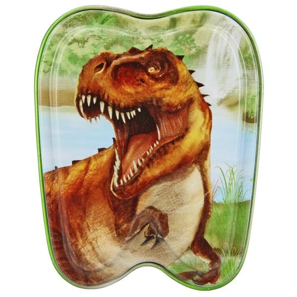 Dino World Tandendoosje T-Rex Bruin