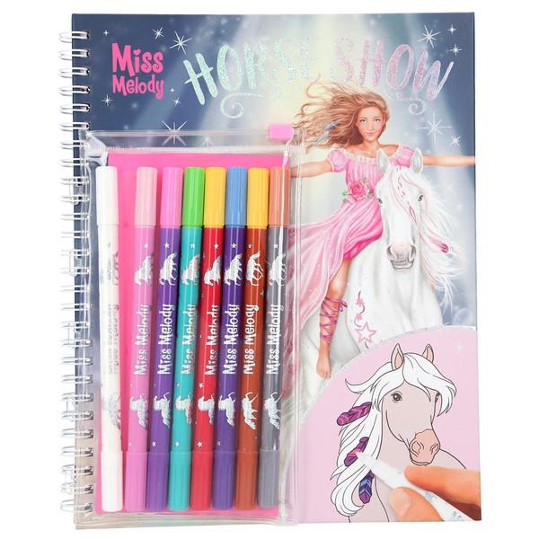 Miss Melody Kleurboek met Magische Stiften