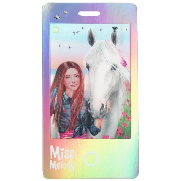 Miss Melody Smartphone Kladblok Sienna & Miss Melody