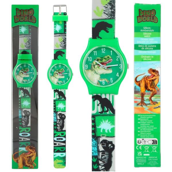 Dino World Horloge Groen