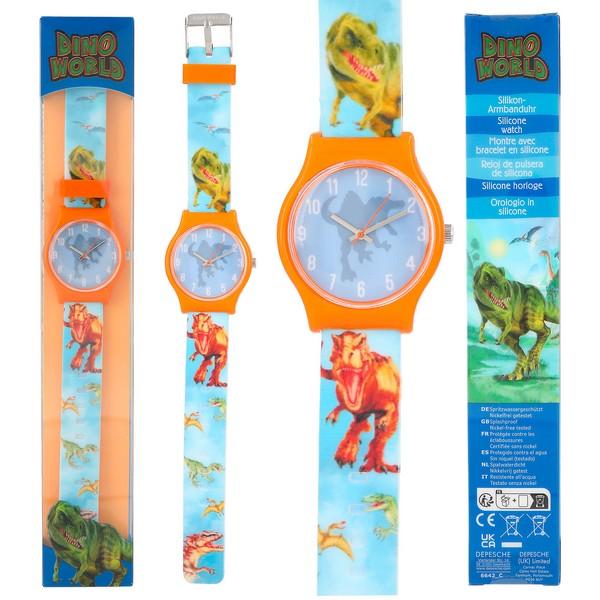 Dino World Horloge Blauw