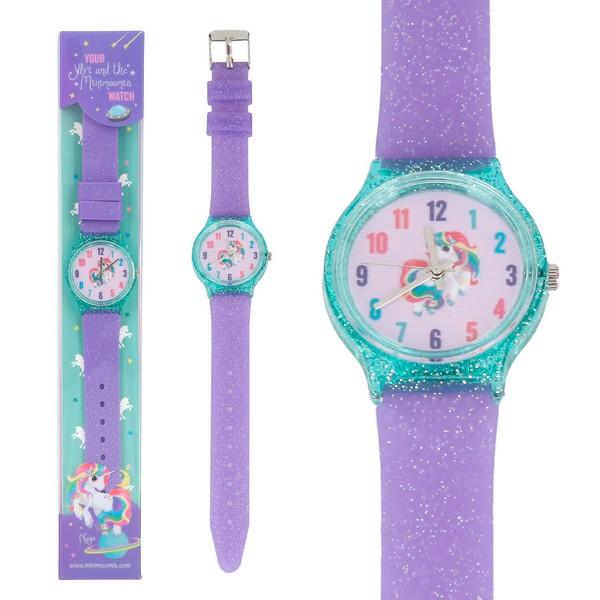 Ylvi & the Minimoomis Horloge Paars