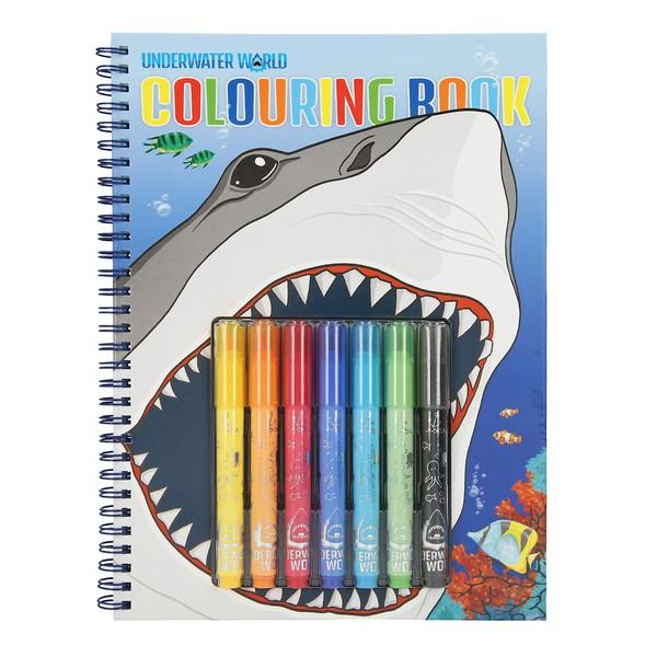 Dino World Onderwater Wereld Kleurboek