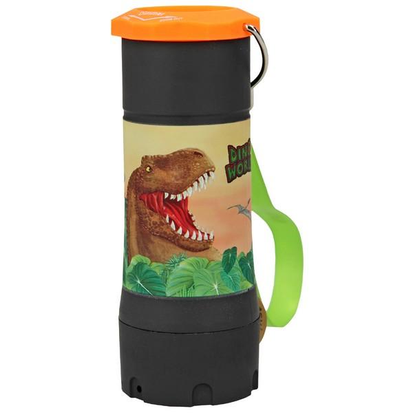 Dino World Zaklantaarn Zwart