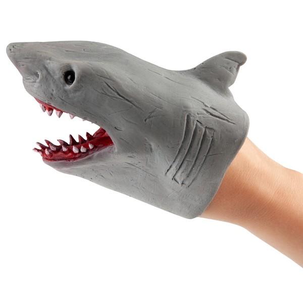 Dino World Haaienhandpop Grijs