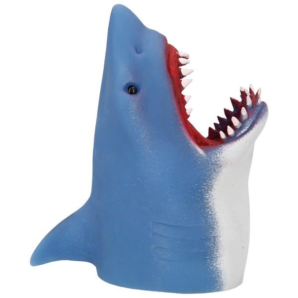 Dino World Haaienhandpop Marine Blauw