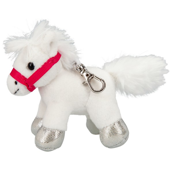 Miss Melody Sleutelhanger Wit Paard